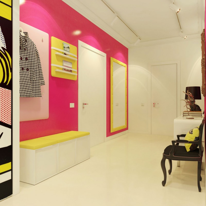 Teia design pop art estilo com design for Foto interior design