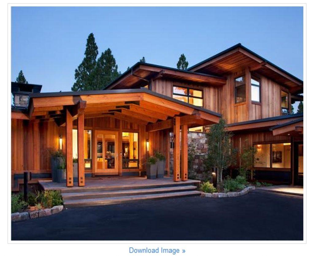 Koleksi Galeri Desain Rumah Kayu Beton Terbaru Komposisi Rumah