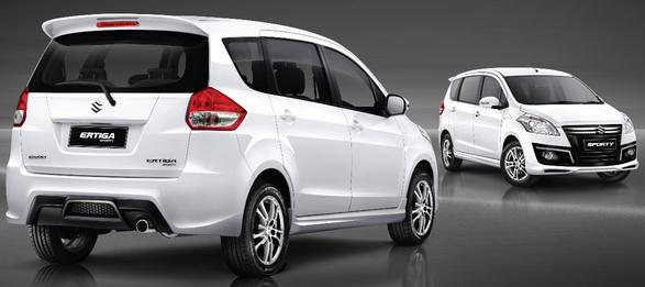 2016 Maruti Suzuki Ertiga Rear Front View