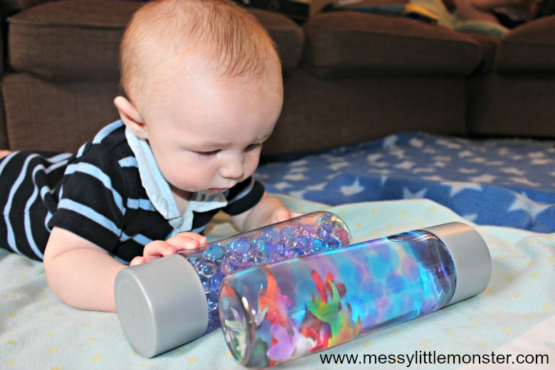 homemade sensory play activities for babies