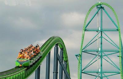 Công viên giải trí Six Flags Great Adventure-Mỹ
