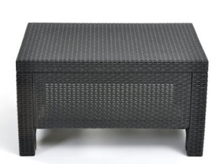 Keter Corfu Charcoal Coffee Table