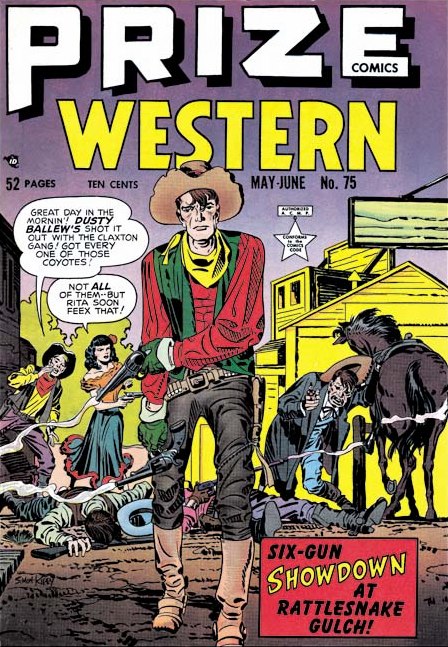 Jack Kirby Prize Comics Western