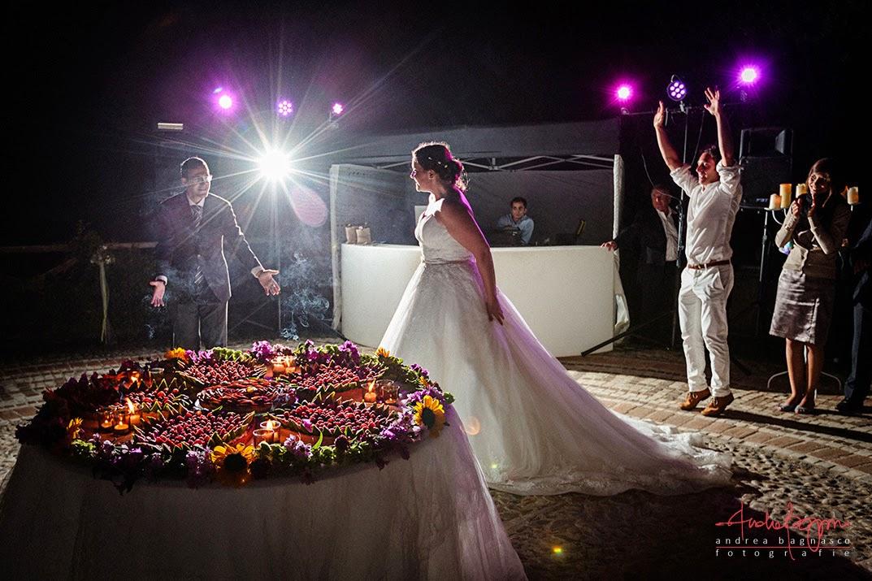 torta matrimonio tenuta la Ginestra Negro Ricevimenti Le Manie