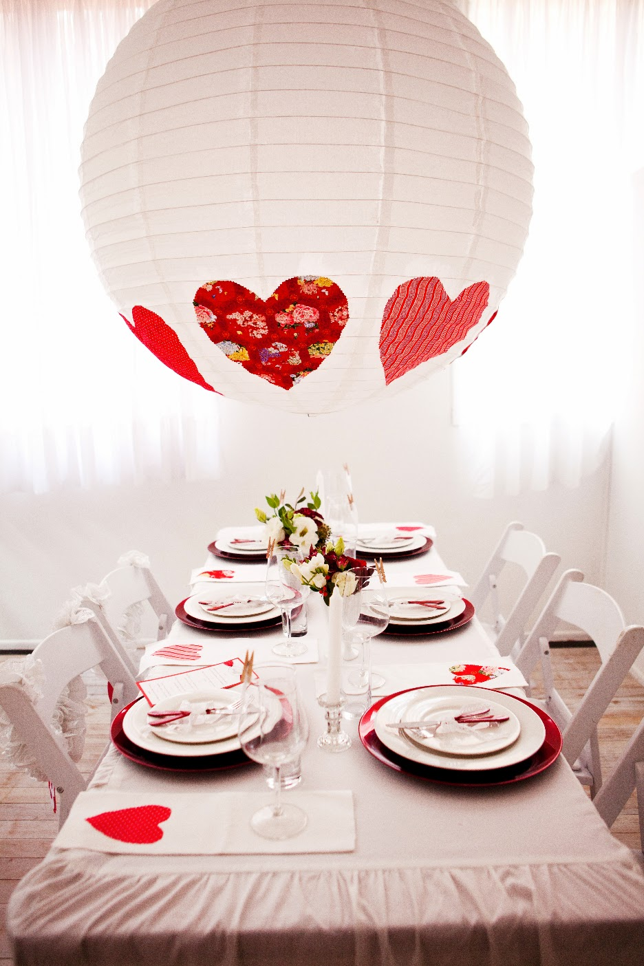 Suggestions for a Heart Wedding Theme
