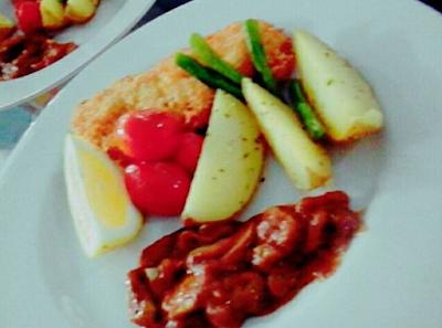 Resep Makanan, Chicken, Crispy Chicken, Steak, Vegetable