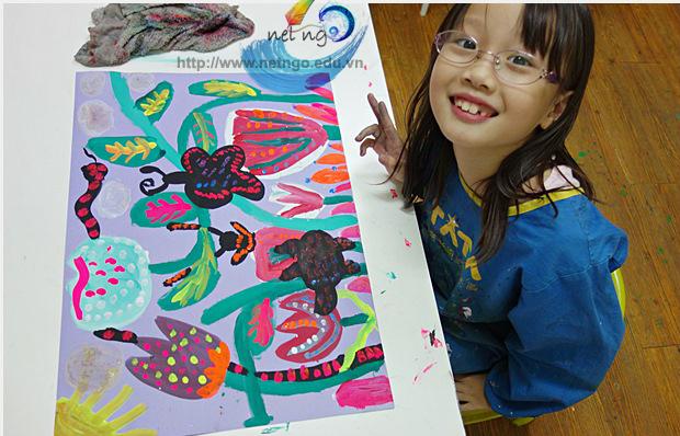 Học vẽ cho thiếu nhi tại quận Tân Phú TPHCM