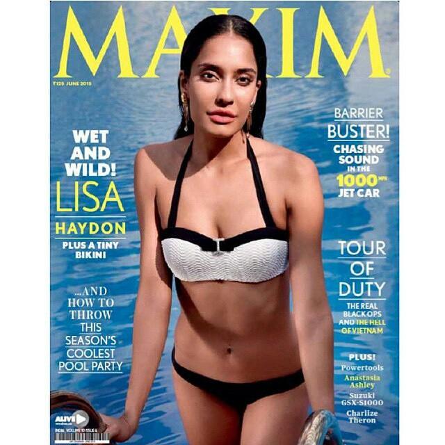 Lisa haydon - Bikini Hot & bold New Bollywood Actress Pics 2016 on maxim