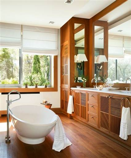Wood Paneling Waterproof In Bathrooms 1