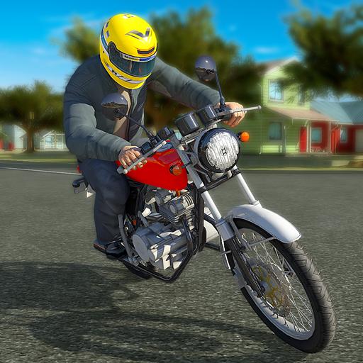 تحميل لعبه Moto Driving School مهكره وجاهزه
