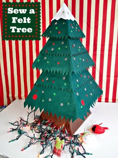 DIY Keepsake Mitten Ornaments Tutorial at GYCT