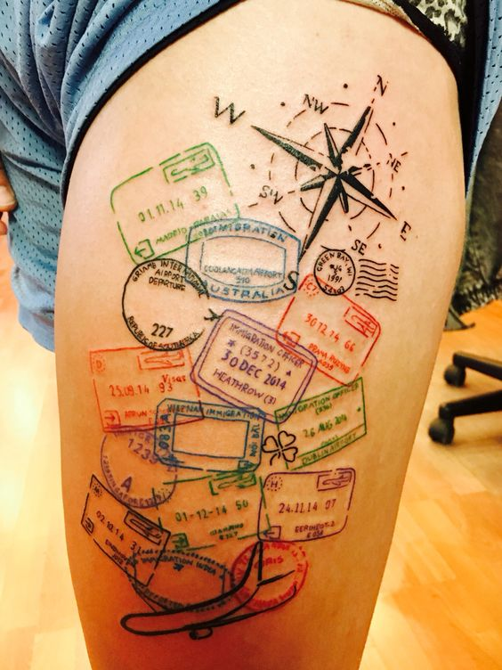 Amazing Travel Tattoos