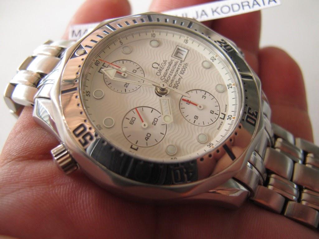 1351ed53da0 Cocok untuk Anda yang meman sedang mencari jam tangan OMEGA CHRONOGRAPH  model seperti ini.. Chronometer.... dengan dial putih bersih... OMEGA  SEAMASTER ...