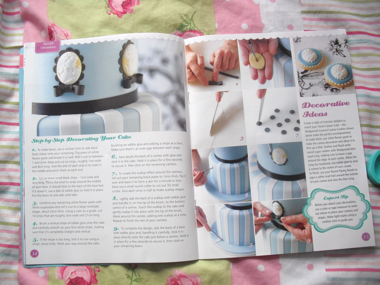Cake Decorating Magazine Issue 8 - Free Cameo Mould.. ♥ | Victoria's Vintage Blog