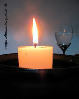 linguagem das velas