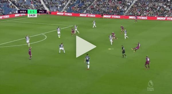 Video West Bromwich Albion 2 - 3 Manchester City Ngoại Hạng Anh Vòng 10