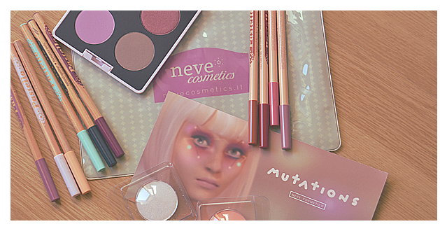 PREVIEW & SWATCHES: Mutations Collection - NEVE COSMETICS