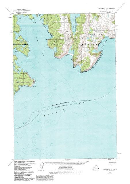 Carte Alaska - 63.360