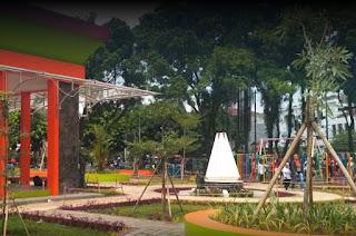 Gambar Taman Kota Tasikmalaya Yang Baru 2017