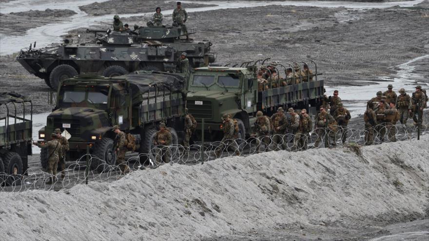 Maniobras entre EEUU y Filipinas en mar de China Meridional