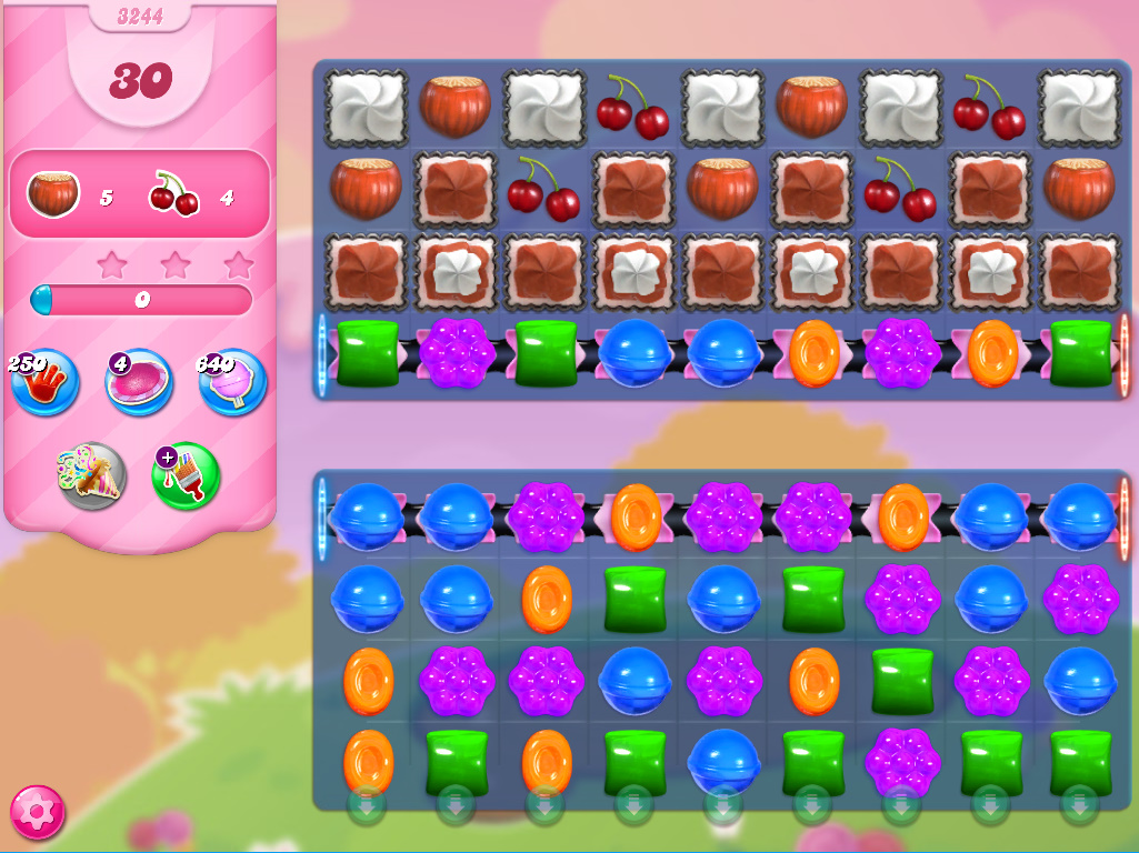 Candy Crush Saga level 3244