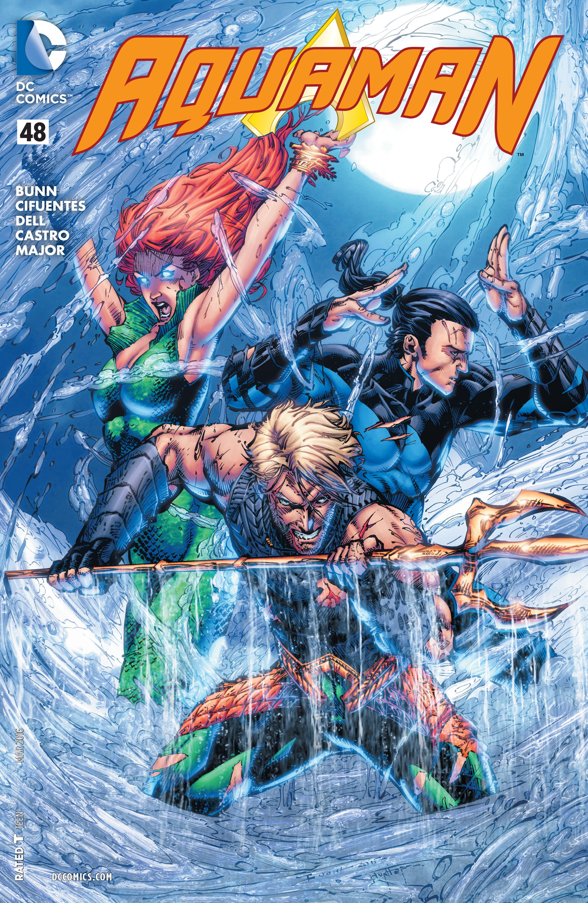 Read online Aquaman (2011) comic -  Issue #48 - 1
