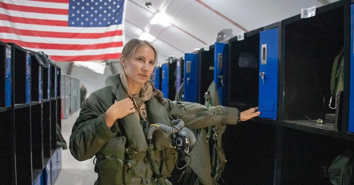 First Ever Woman To Pilot The F-35 Stealth Bomber Is Revealed – But The Cost Of $1.6 Trillion Weapons Program Is Questioned