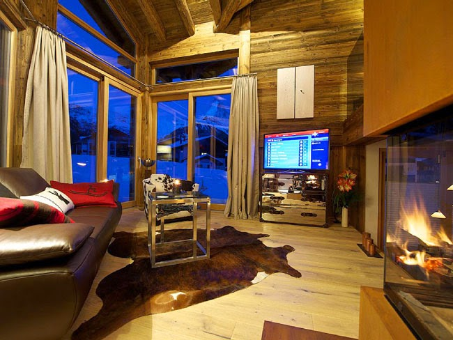 ESTILO RUSTICO Chalet Rustico en Zermatt  Rustic Style