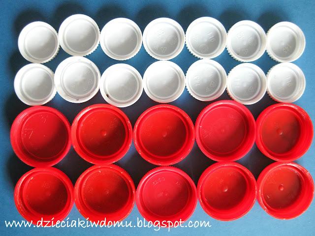 flaga polski zabawa kreatywna