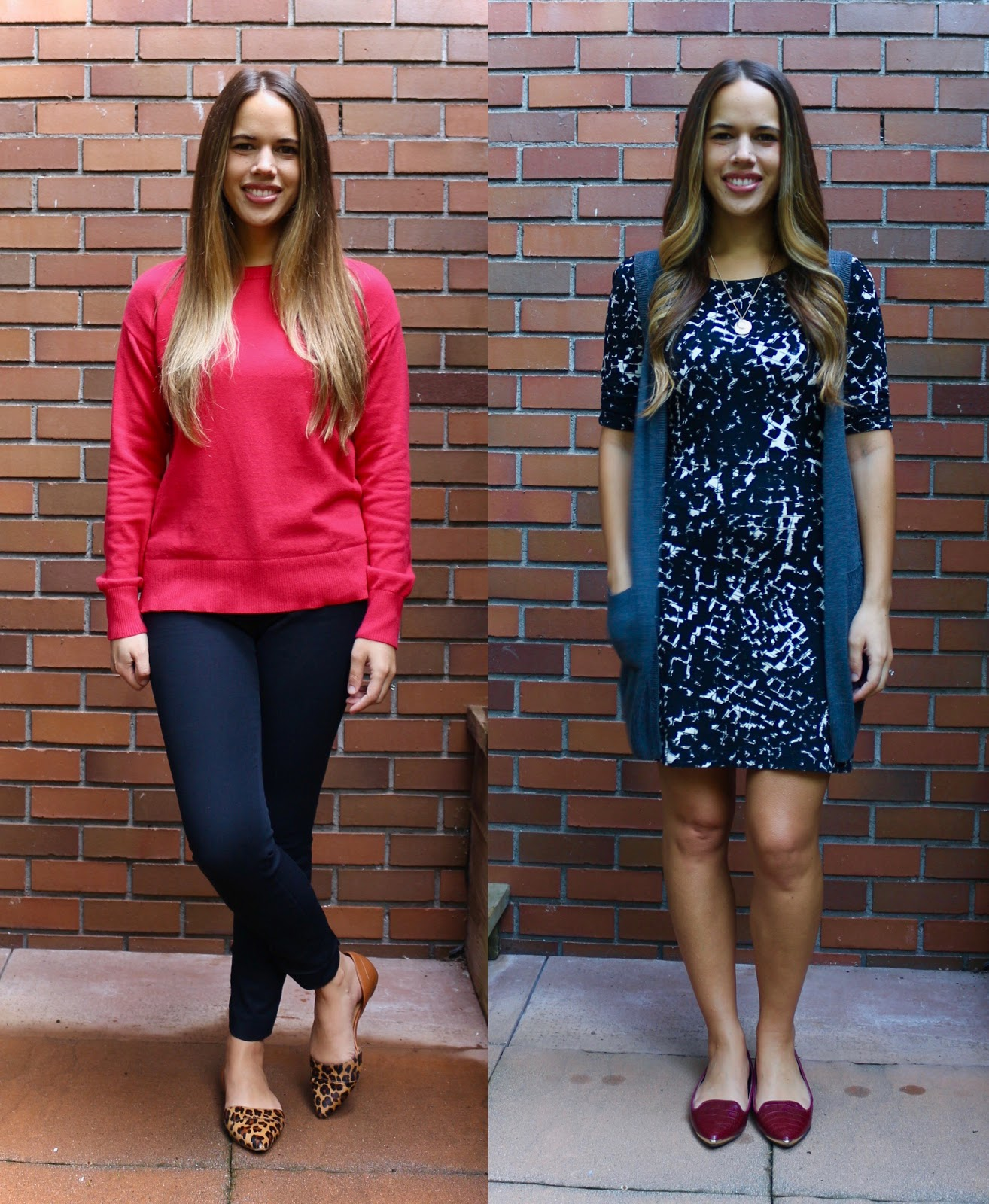 Jules in Flats September Outfits (Business Casual Workwear on a Budget)