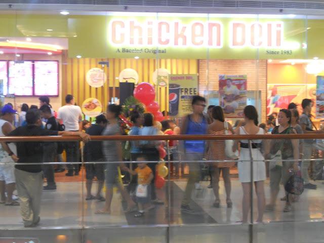 Chicken Deli at Cybergate Mall in Cebu City