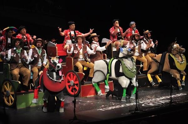 Festival carnavalero de primavera en Córdoba