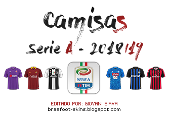 Pack Camisas FC'12 Brasfoot 2019 - Serie A 2018/19