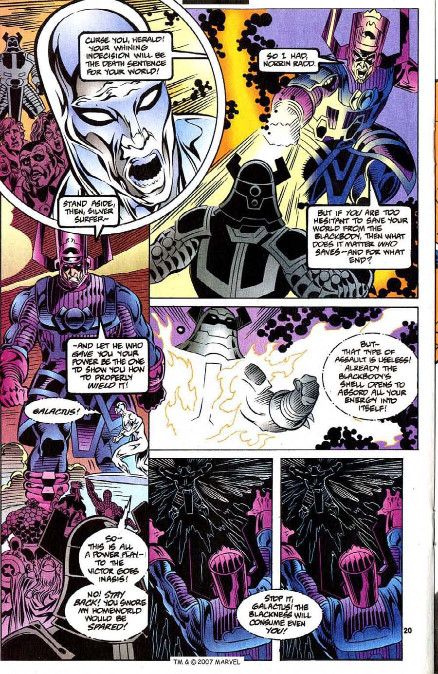 Read online Silver Surfer (1987) comic -  Issue #111 - 22