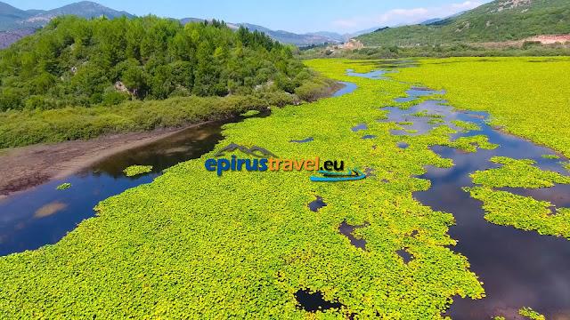 Θεσπρωτία: Η λίμνη Καλοδίκη απο ψηλά (+ΒΙΝΤΕΟ)