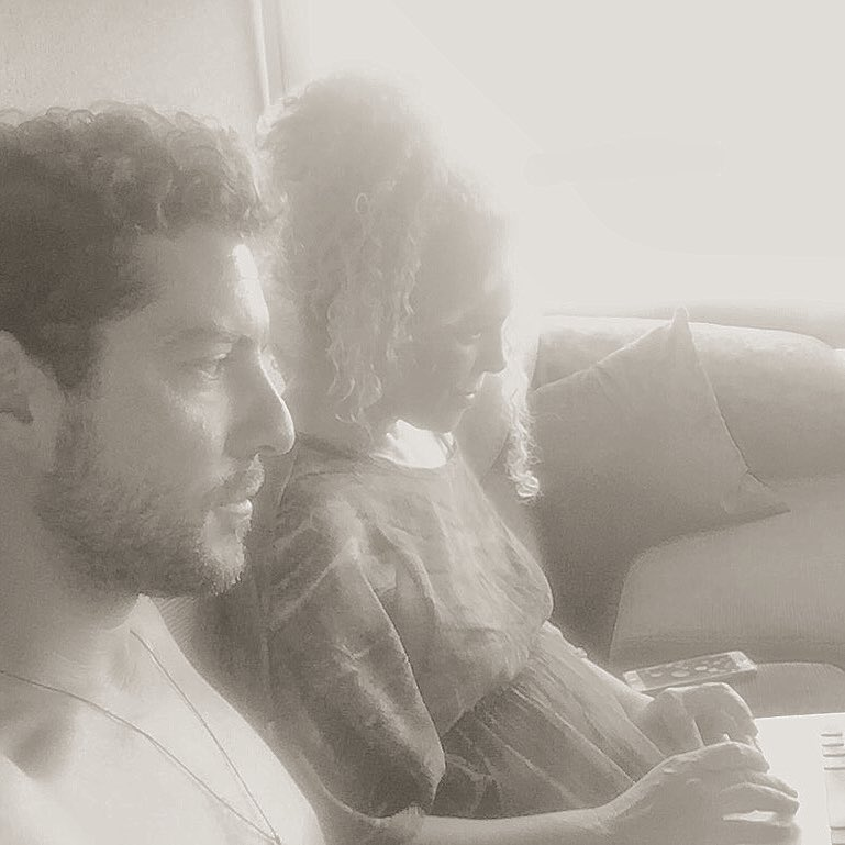 David Bisbal con su hermana Maria del Mar