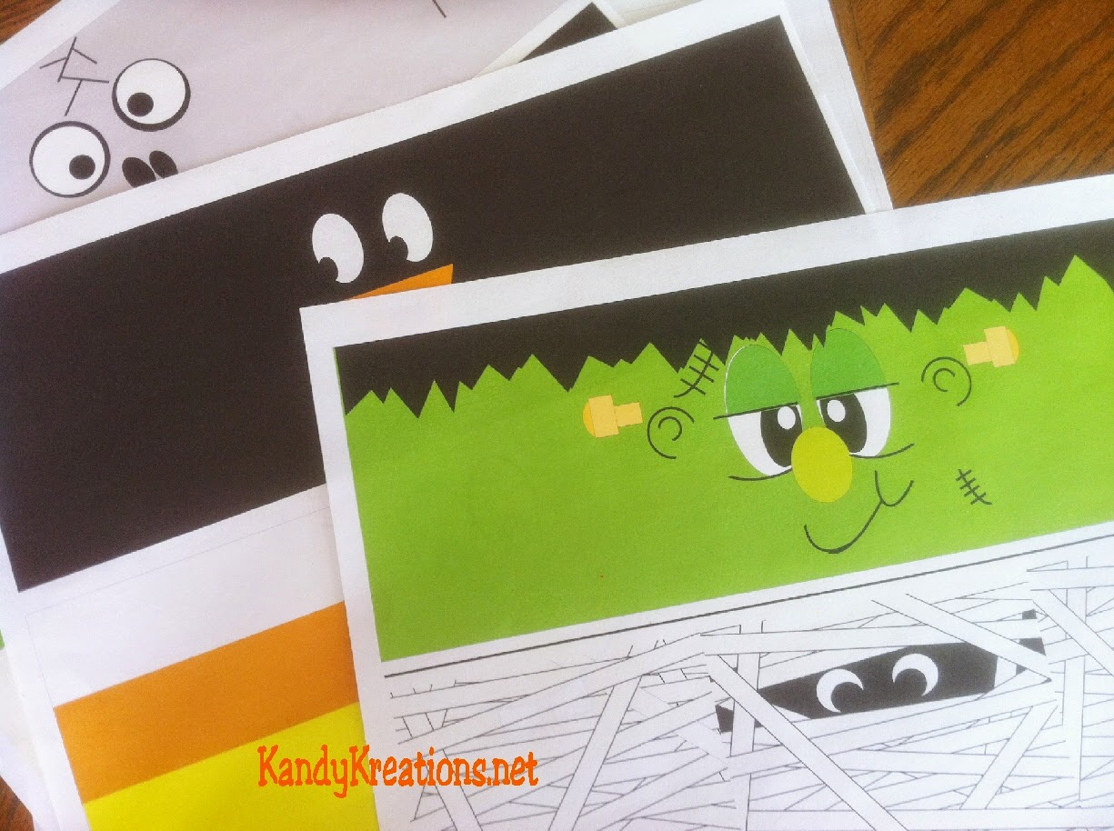picture about Free Printable Halloween Crafts named Do it yourself Social gathering Mother: Basic Halloween Decorations Cost-free Printables