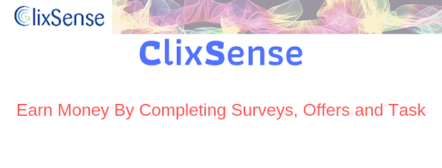 CLIXSENSE - Earn Money By Completing Surveys, Offers and Task