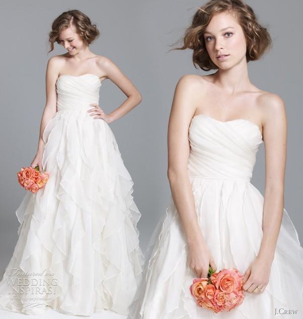 J Crew Simple Wedding Dresses: Honey Buy: J.Crew Wedding Dresses