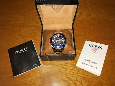 Guess GUW0172G3 Saat İncelemesi