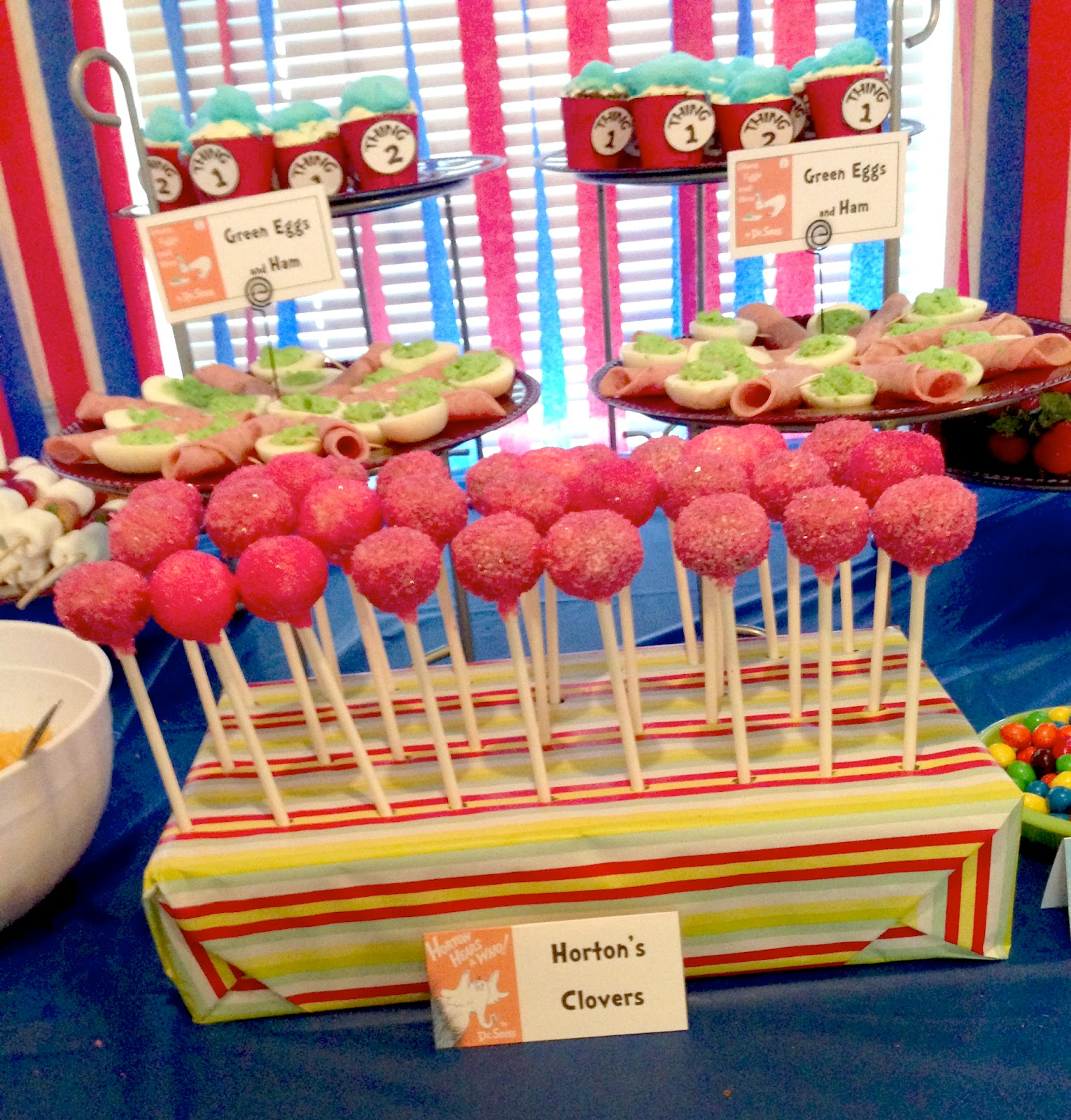 Home With The Ayres Dr Seuss Baby Shower