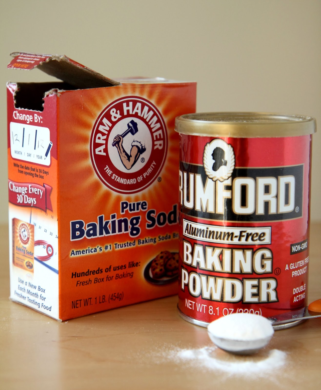 Baking Soda, Baking Powder, and Yeast - Blowing Bubbles In The Name