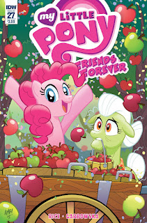 MLP Friends Forever #27 Comic by IDW Regular Cover by Tony Fleecs
