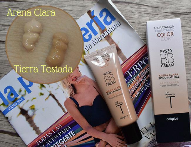 BBCream de Mercadona, tono Arena Clara y Tierra Tostada
