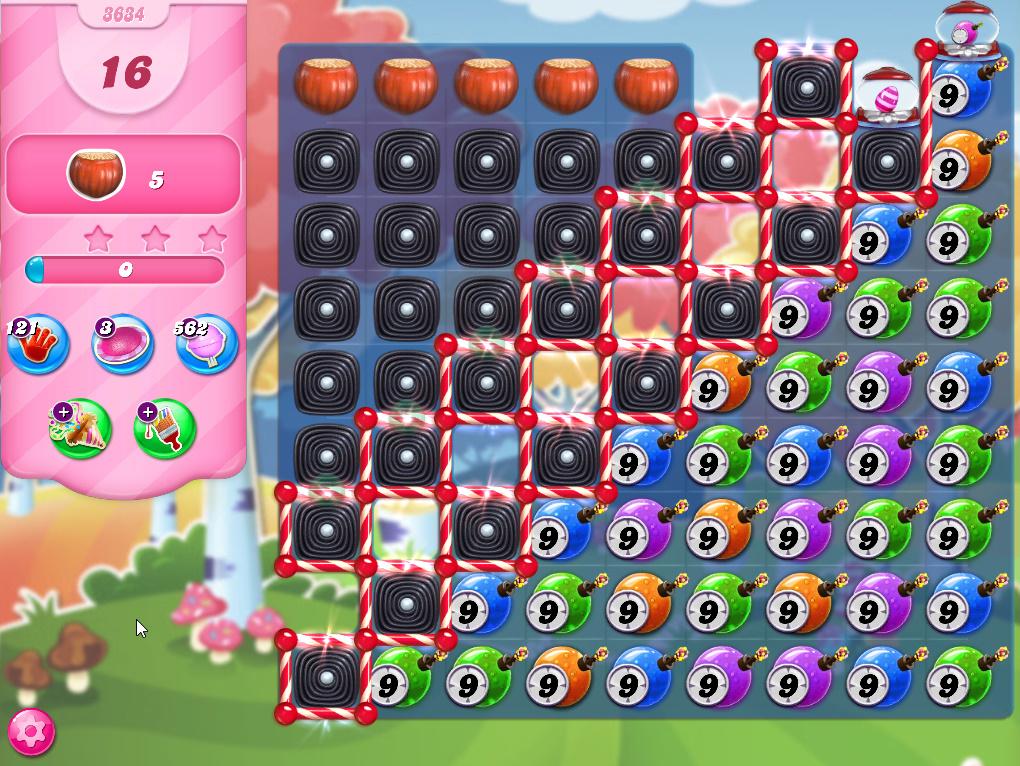 Candy Crush Saga level 3634
