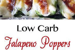 Jalapeno Poppers | Low Carb