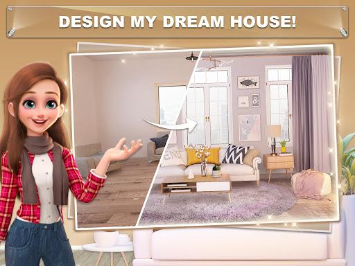 تحميل لعبة My Home Design Dreams مهكرة للاندرويد