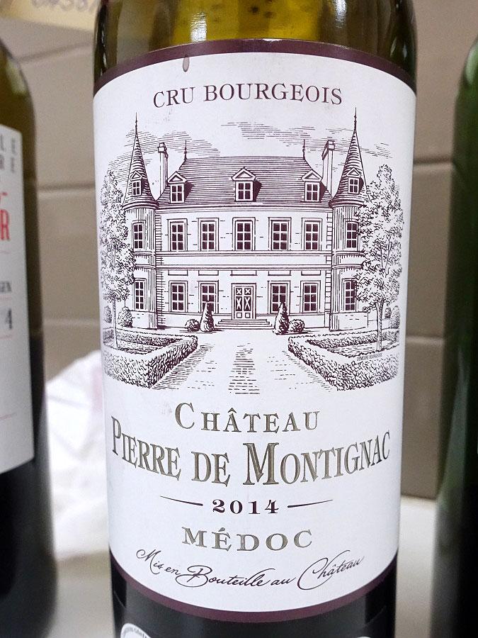 Château Pierre de Montignac 2014 (90 pts)