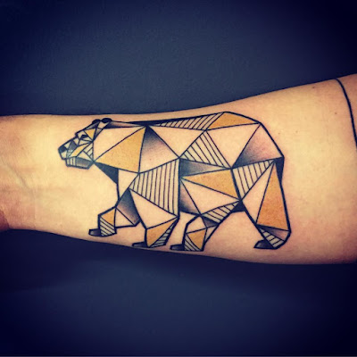 Tatuajes De Oso Polar Polar Bear Tattoos Diseños De Tatuajes