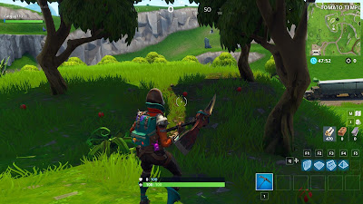 Fortnite, Season 6, Week 7, Apple Trees, Tomato Temple